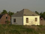 Barns on a Farm  Manitoba Prairie