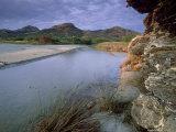Estuary of Fango River  La Corse  France