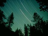 Star Circles  Sierra Nevada  USA