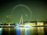 London Eye at Night  UK