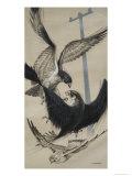 Peregrine Falcon and Kestrel