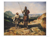 Don Quixote and Sancho