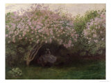 Lilacs  Grey Weather  c1872-73