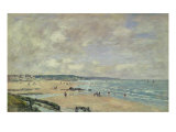 Beach at Trouville  1893