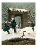 Cemetery in the Snow  1826