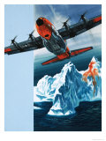 Lockheed Hercules Patrolling Icebergs For the Coast Guard