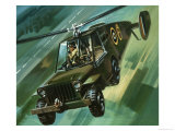 Into the Blue: The Flying Jeep