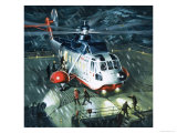 Danger Men of the Oil Fields a British Airways S-61N Helicopter