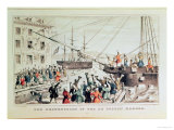 The Boston Tea Party  1846