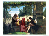 Florentine Troubadours in the 14th Century  1860