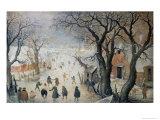 Winter Scene  c1610