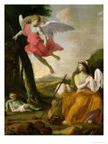 Hagar and Ishmael Rescued by the Angel  c1648