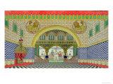 Sketch For the Opera  The Golden Cockerel  by Nikolai Rimsky-Korsakov