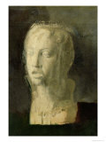 Study of the Head of a Young Singer  After Della Robbia  c1856-58