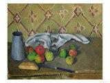 Fruit  Serviette and Milk Jug  c1879-82
