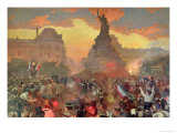 Carnival in Paris in Honour of the Russian Navy  5th October 1893  1900