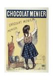 Poster Advertising Chocolat Menier  1893