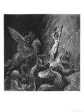 Ruggiero Rescuing Angelica  Illustration from Canto X of 'Orlando Furioso' by Ludovico Ariosto