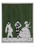 Carnaval  from the Series Designs on the Dances of Vaslav Nijinsky