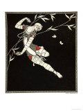 L'Oiseau de Feu  from the Series Designs on the Dances of Vaslav Nijinsky