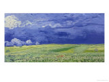 Wheatfields under Thunderclouds  1890