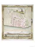 Map of Brighton by Thomas Yeakell and William Gardner  Engraved by Whitchurch  1779