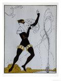 Le Pavillion DArmider from the Series Designs on the Dances of Vaslav Nijinsky
