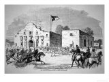 The Alamo Fort at San Antonio  Headquarters of Federal General Twiggs