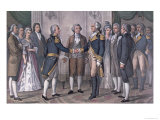 The First Meeting of General George Washington