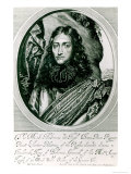 Prince Rupert of the Rhine Engraved by William Faithorne