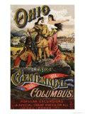 Advertisement For the Ohio Centennial Exposition  1888