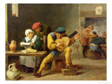 Peasants Making Music in an Inn  c1635