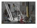Interior of Weaver's Workshop  VolII  Description of Egypt  c1822