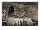 Potter's Workshop  VolII  Arts and Trades of Description of Egypt  Engraved Letellier  Pub1822