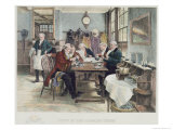 Toddy at the Cheshire Cheese  Published 1896