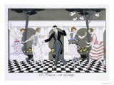 Love is Blind  Engraved by Henri Reidel  1920