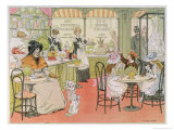 The Tea Shop  from The Book of Shops  1899
