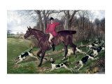 Horse Fox Hunt I