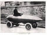 Electrical Racing Car Jenatzy La Jamais Contente  c1900
