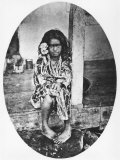 Young Tahitian Princess  Illustration from Tahiti  Published in London  1882