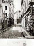 Rue de L'Arbalete  from the Rue Mouffetard  Paris  1858-78