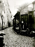 Rue du Jardinet and the Cul-De-Sac of Rohan  Paris  1858-78