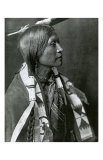 Jicarilla Apache Reproduction d'art par Edward S. Curtis