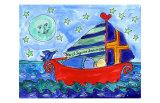 Moon Fish and Star Sailing