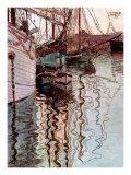 Der Hafen von Triest