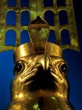 Falcon God Face of Horus  6th Dynasty  Cult Center for God Horus  Old Kingdom  Egypt