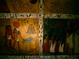Funerary Scene from Tomb of Sennedjem  Deir el Medina  near Luxor  Egypt