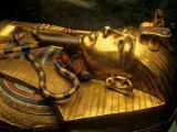 Valley of the Kings  Golden Coffin  Tutankhamun  Egypt