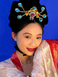 Woman in Tang Dynasty Traditional Costume  China