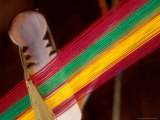 Kente Cloth Being Woven on Loom  Bonwire  Ghana